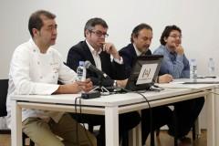 Jornadas Gastroup14, jornadas gastronómicas organizadas por e Unió de Periodistes en el espai Rambleta. Valencia  15-02-2014 (Foto: UNIO// Alberto Sáiz)